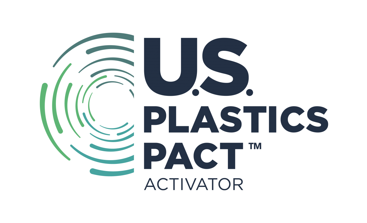 The U.S. Plastics Pact's logo