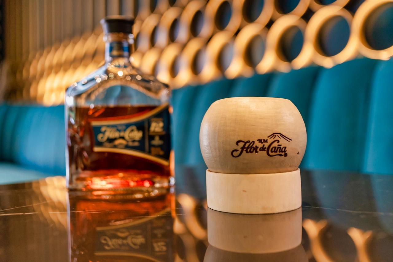 Flor de Cana rum bottle