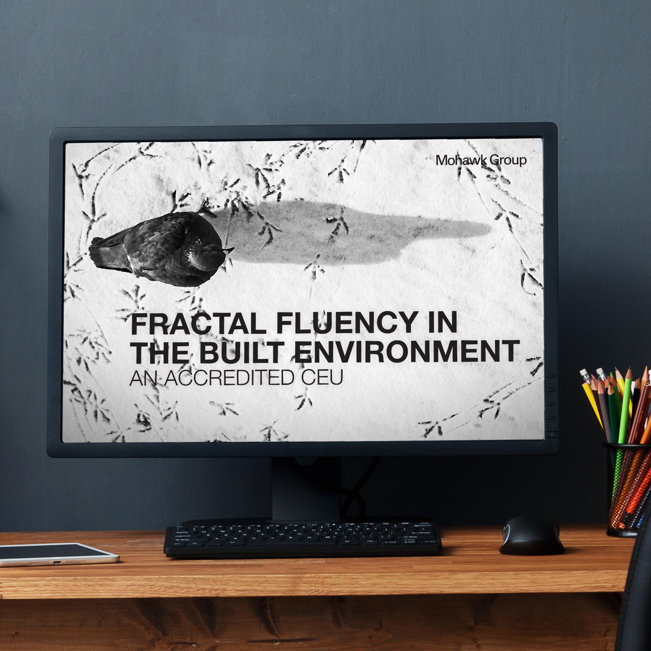 Fractal Fluency in the Built Environment