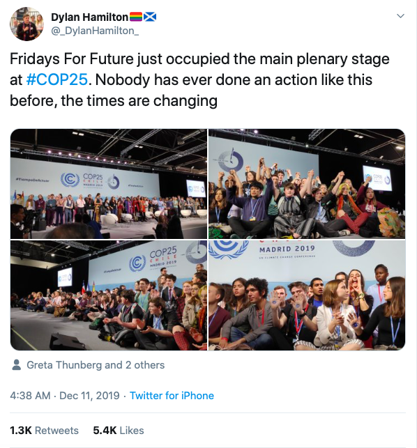 Fridays For Future COP25
