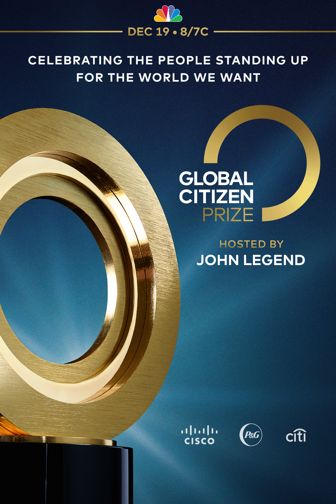 Global Citizen Prize logo and banner image