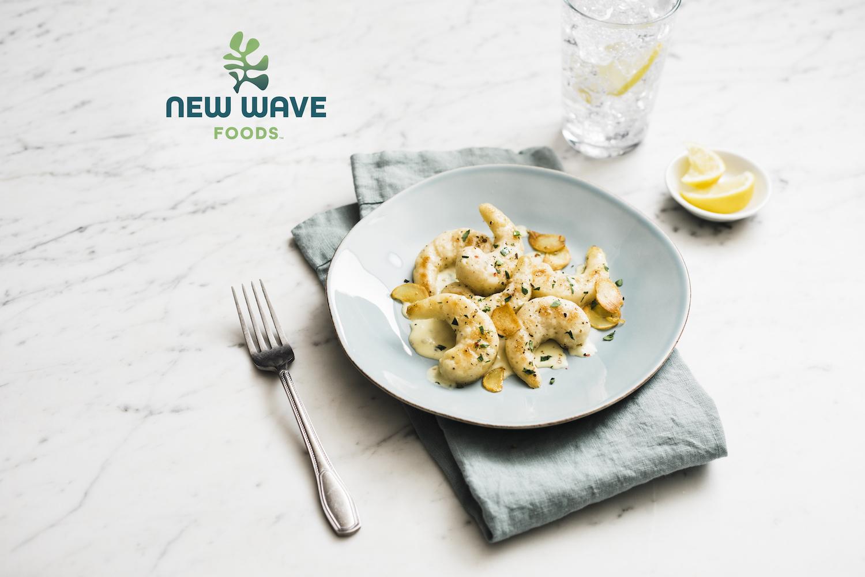 New Wave Foods plant-based shrimp
