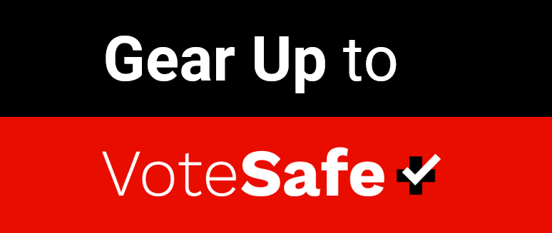 Gear Up to VoteSafe Logo