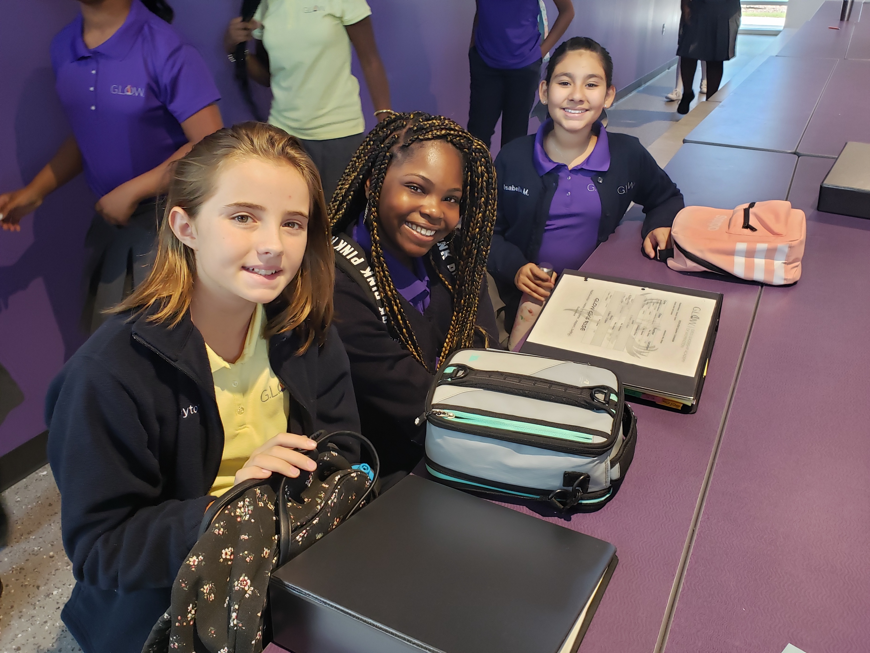 Girls Leadership Academy of Wilmington students