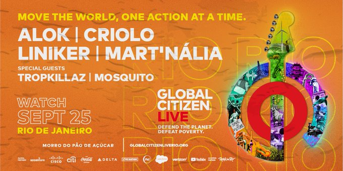 global citizen live poster
