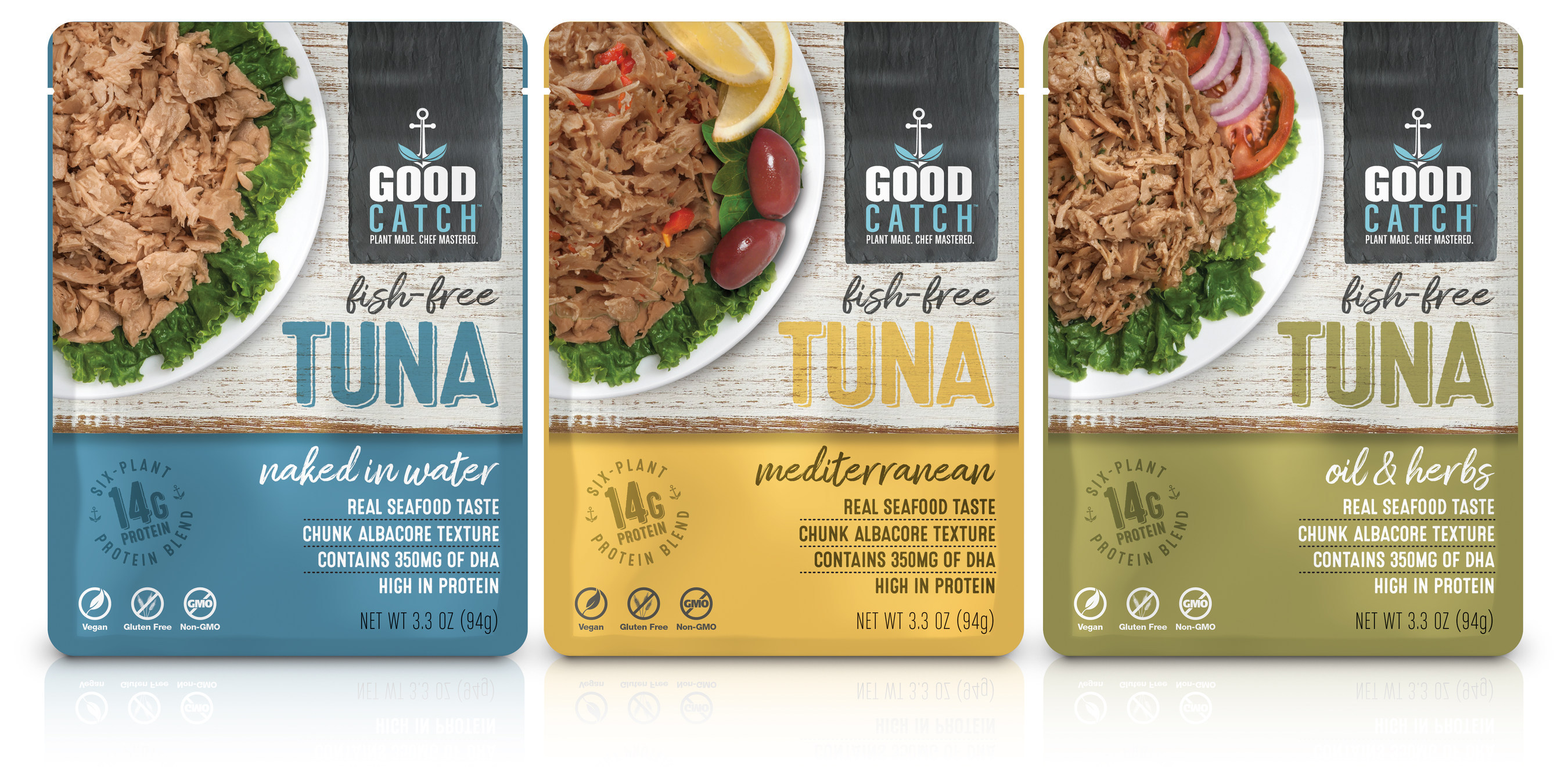 Good Catch plant-based sustainable seafood