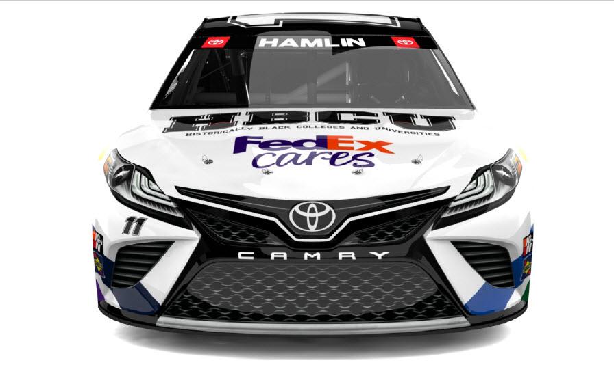 FedEx HBCU car wrap