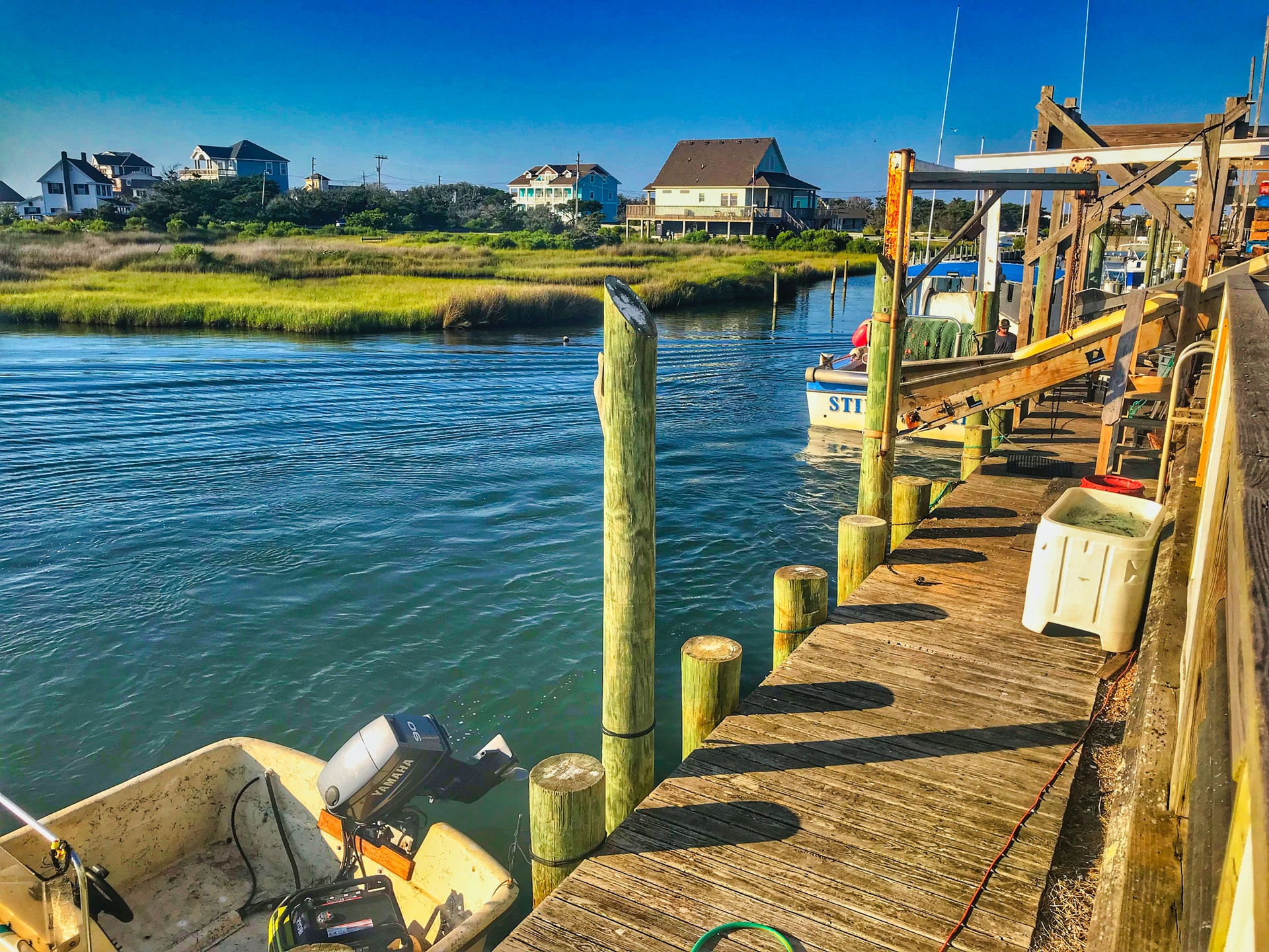 Hatteras in the Outer Banks of North Carolina, a stop along one scenic byway