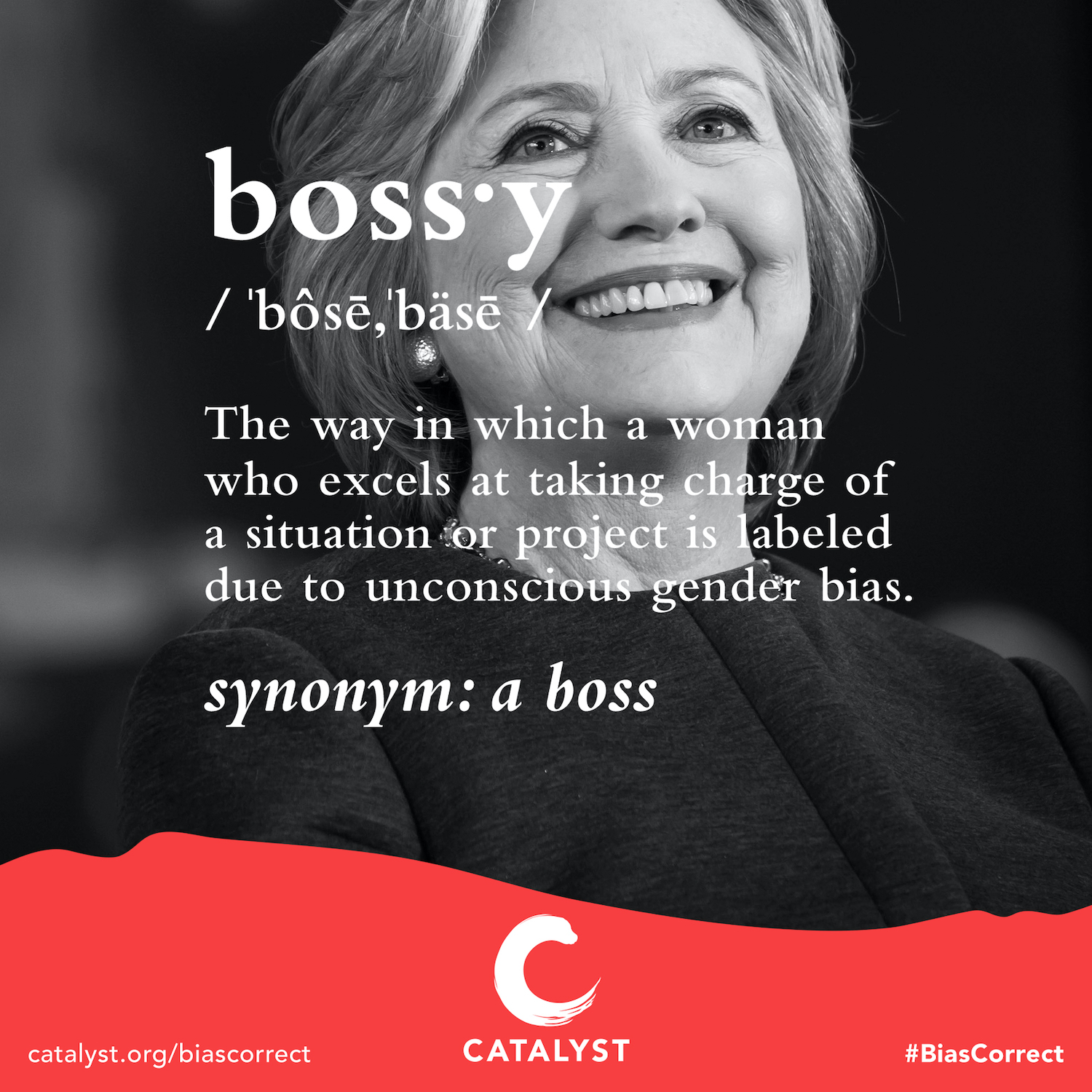 Hillary Clinton #BiasCorrect campaign to fight gender bias