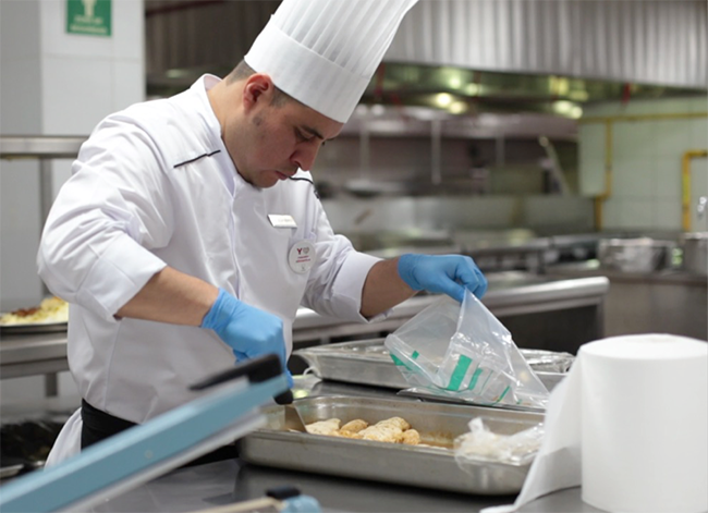 Hilton looks to reduce food waste
