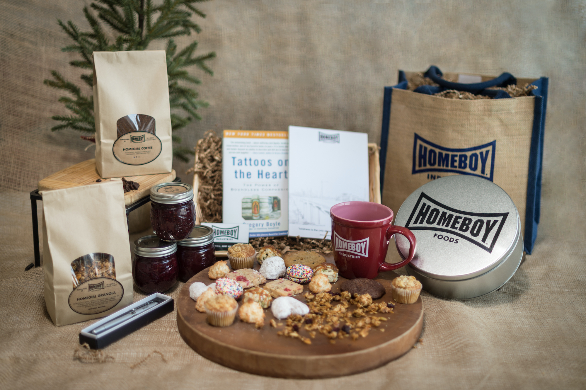 Homeboy Industries Hope gift package sustainable holiday gifts