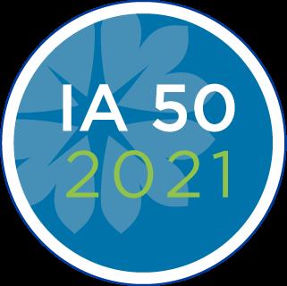 IA 50 2021 logo