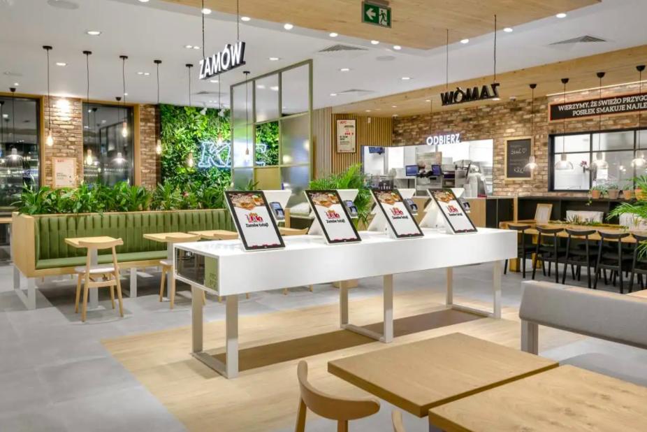 KFC green sustainable building