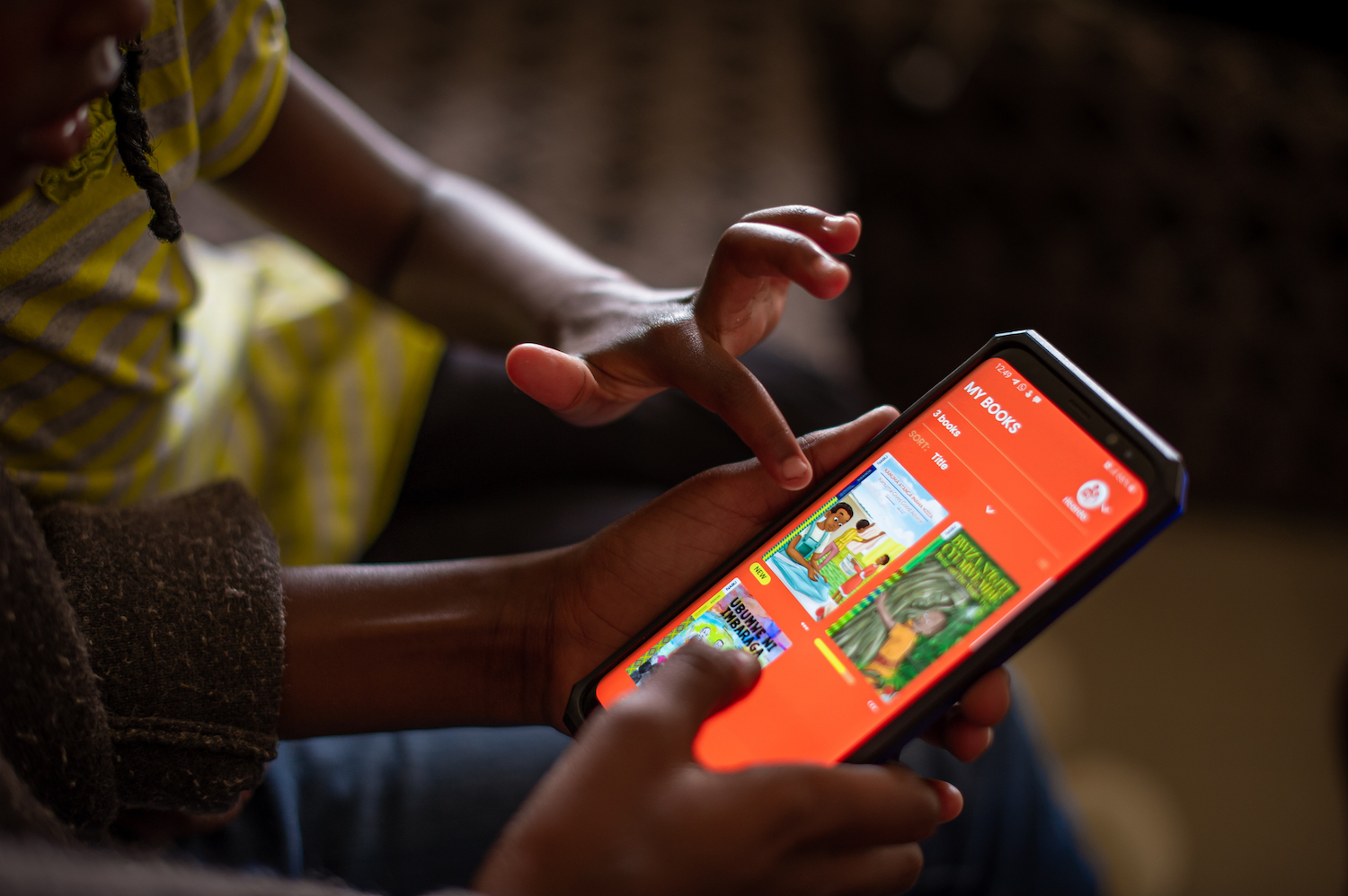 Kids reading in Families - App for Books in Mother Tongue Languages