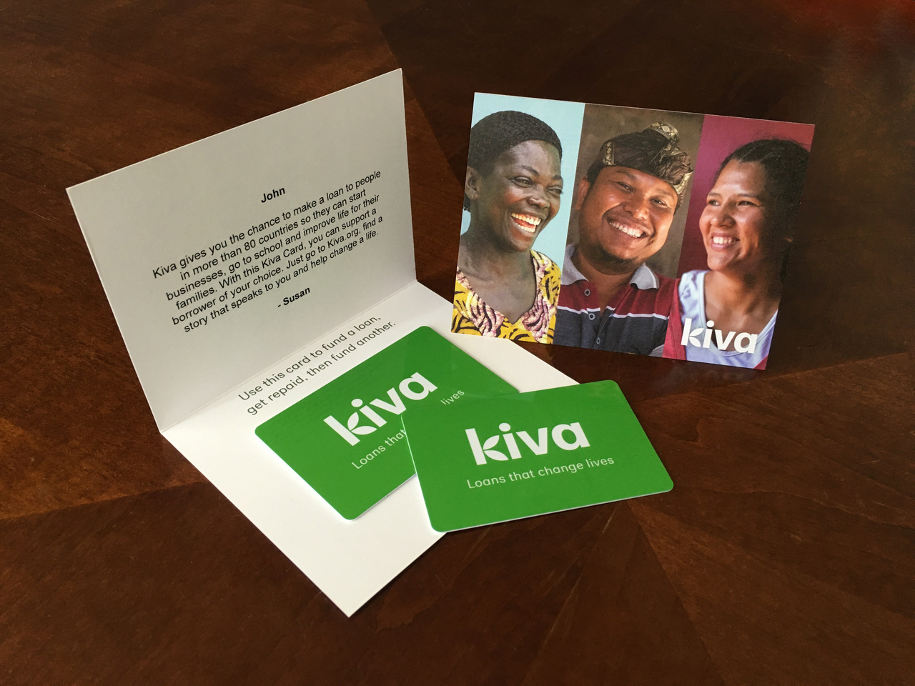 Kiva Cards sustainable holiday gifts