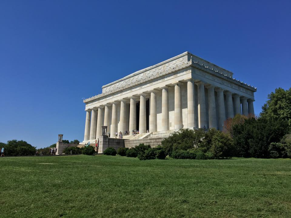 Of course, the Lincoln Memorial is the perfect stop on a Capital Bikeshare bike on the way to noshing in Foggy Bottom