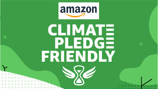 amazon climate friendly pledge logo