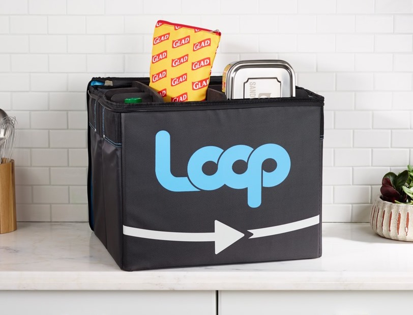 Loop reusable packaging system