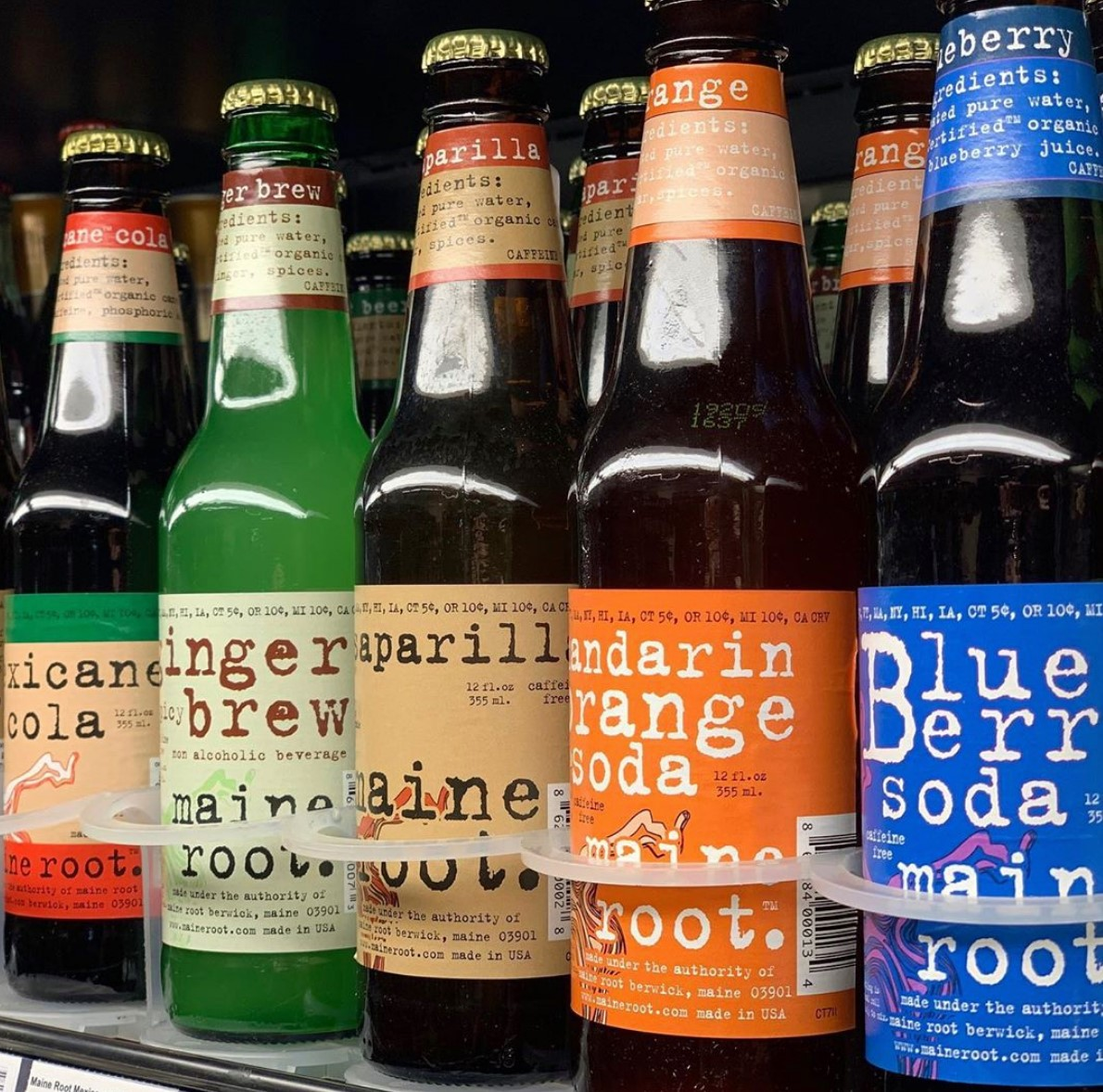 Maine Root's sodas use fair trade-certified organic sugar from Brazil
