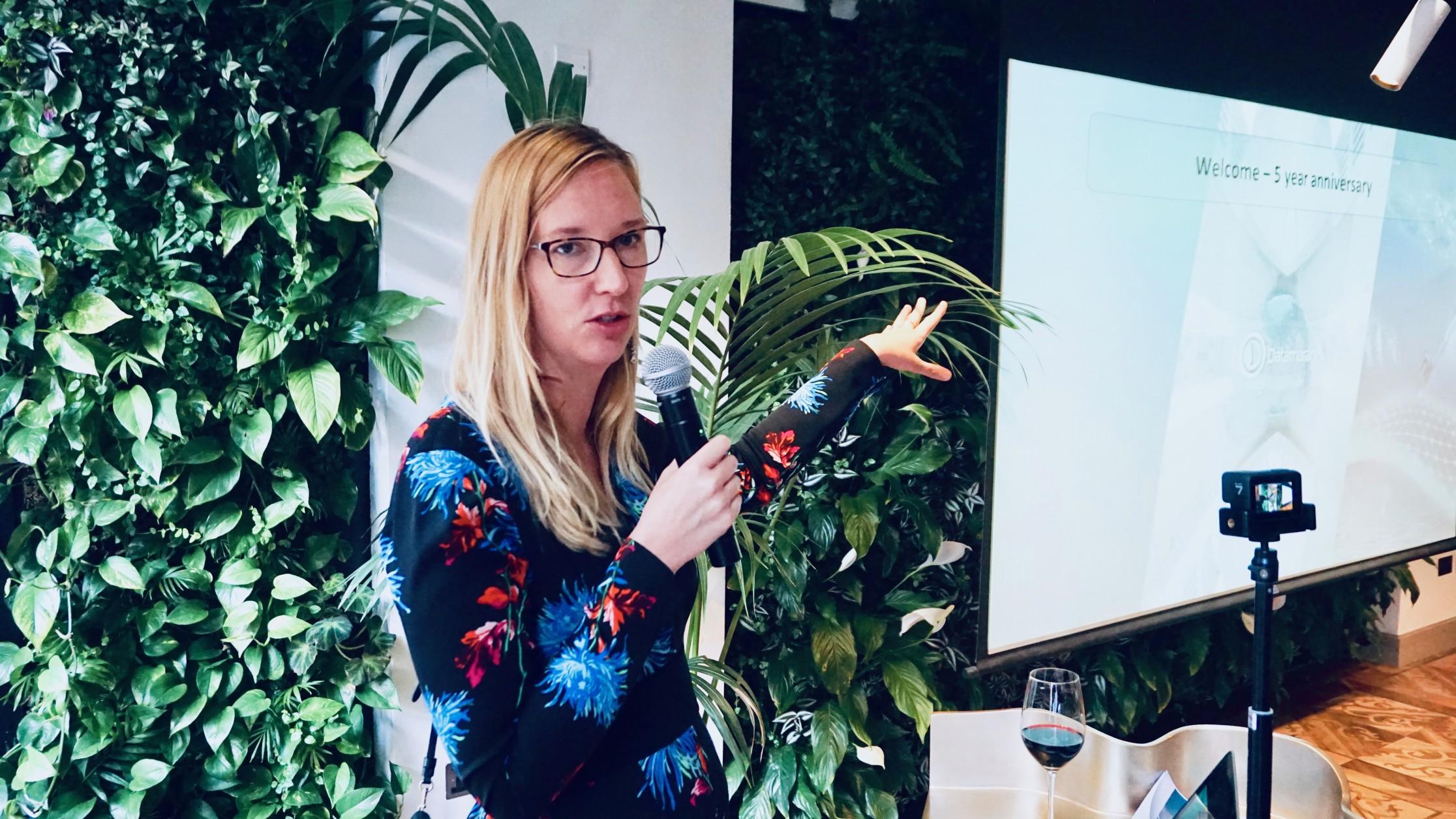 Marjella Lecourt-Alma, CEO and co-founder of Datamaran