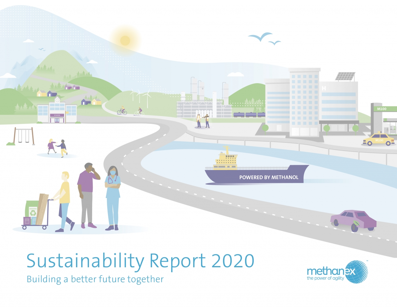 Methanex 2020 Report Cover