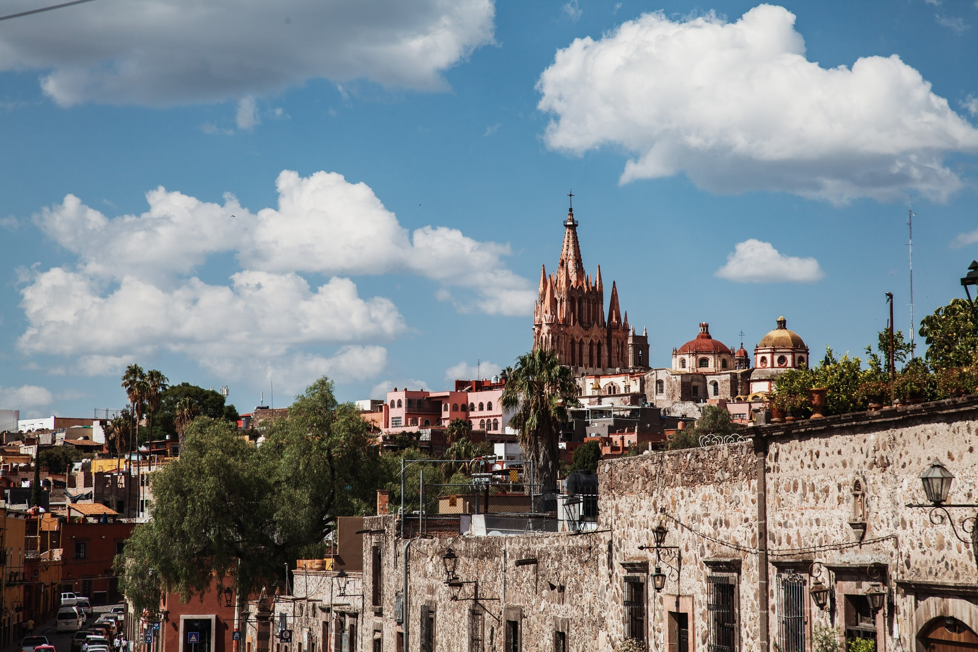 San Miguel de Allende, one of many cities in central Mexico that will have to find strategies to cope with an emerging water crisis. Image credit: Jillian Kim/Unsplash