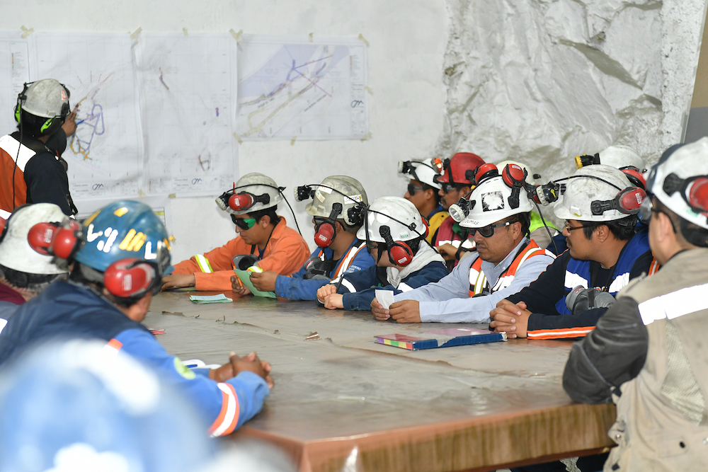 Miners meeting