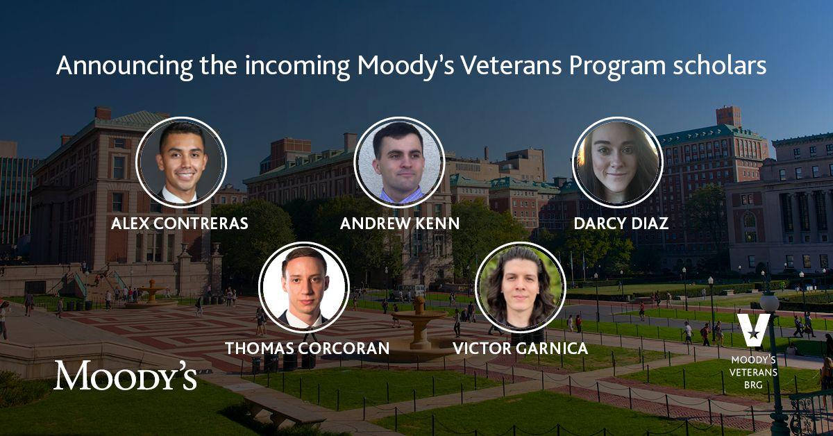 moodys veterans program scholars
