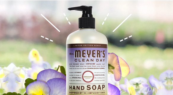 Mrs. Meyer's Compassion Flower hand soap