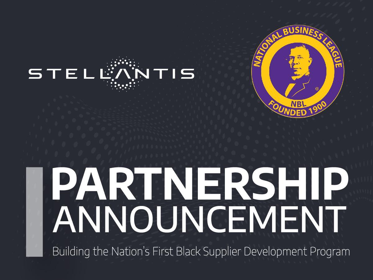 Stellantis Partnership Announcement Infographic