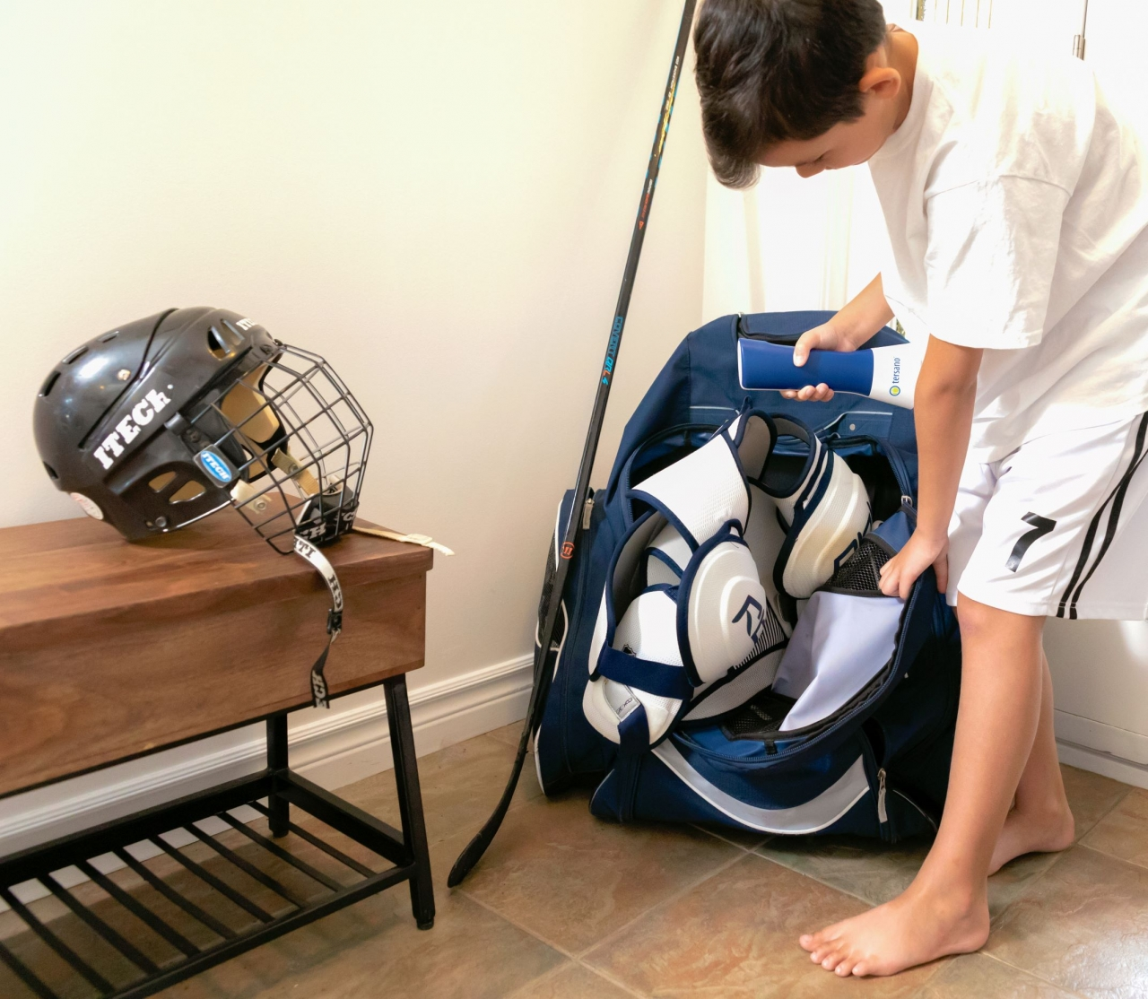 Cleaning gear