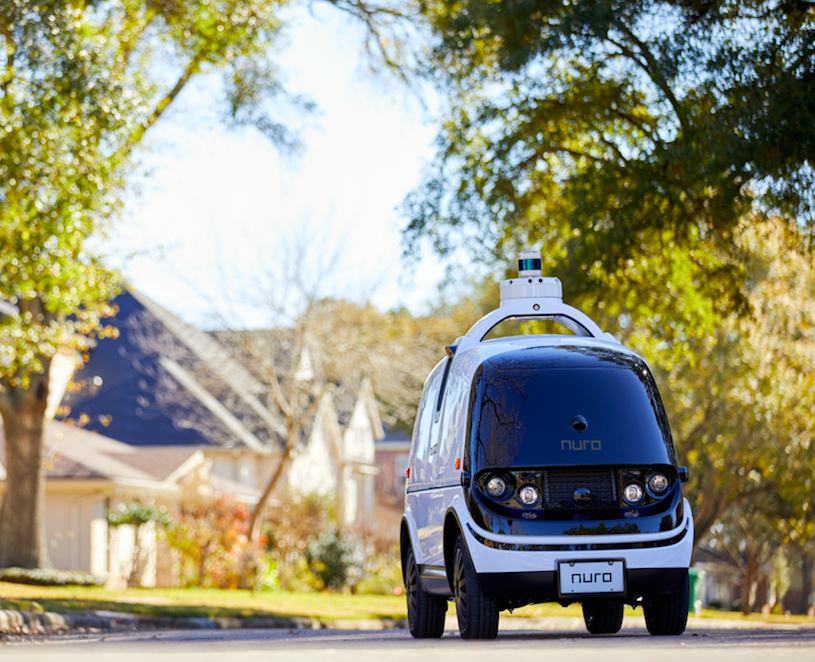 Nuro self driving cars will soon be making deliveries in Houston