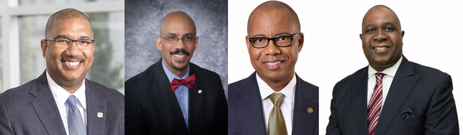 four different headshots of Fifth Third Bancorp Executives