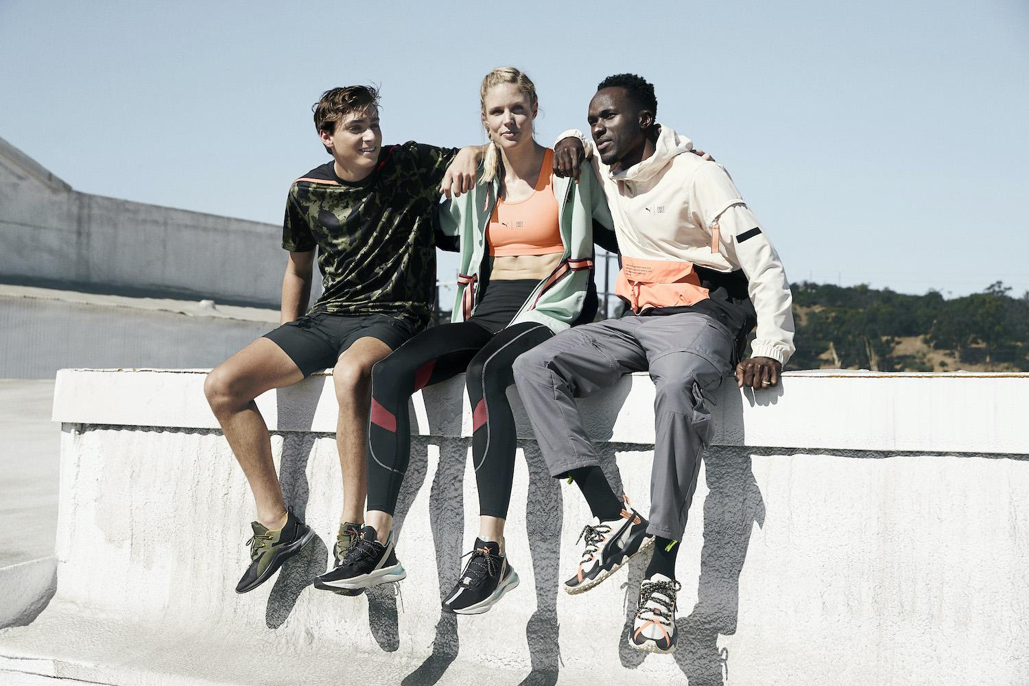 Puma recycled collection
