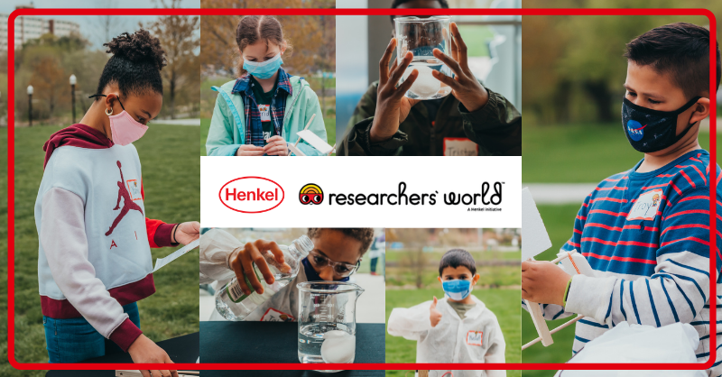 collage of student researchers