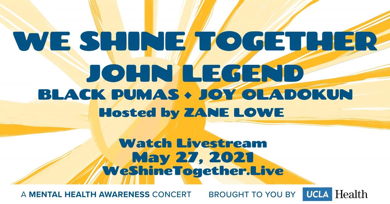 """""""We shine together"""" event banner image"""