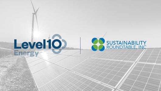 Sustainability Roundtable and LevelTen Energy logos