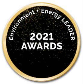 Environment + Energy Leader award logo