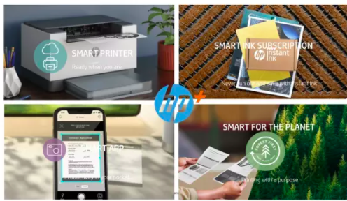types of smart product by hp