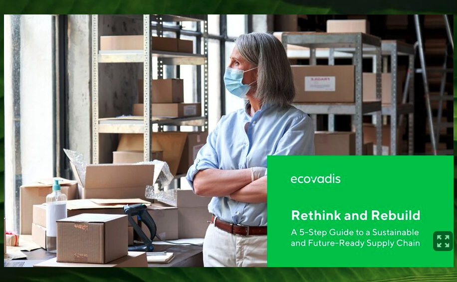 """EcoVadis """"Rethink and Rebuild"""" Cover"""