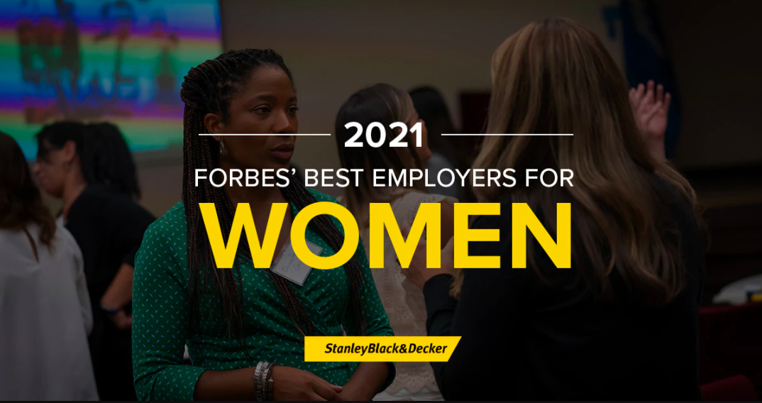 2021 Forbes' Best Employers for Women Banner