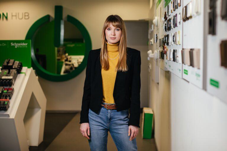 Natalia Liashenko, Director of the Home & Distribution department of Schneider Electric Ukraine