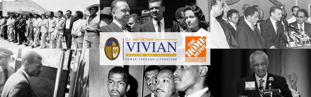 pictures of Dr. C.T. Vivian