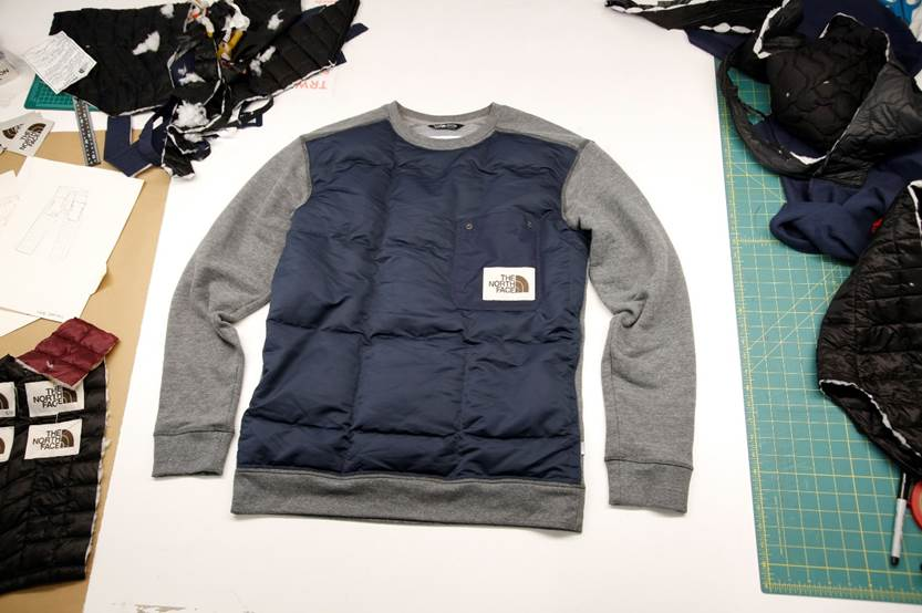 The North Face Renewed Design Residency circular clothing auction