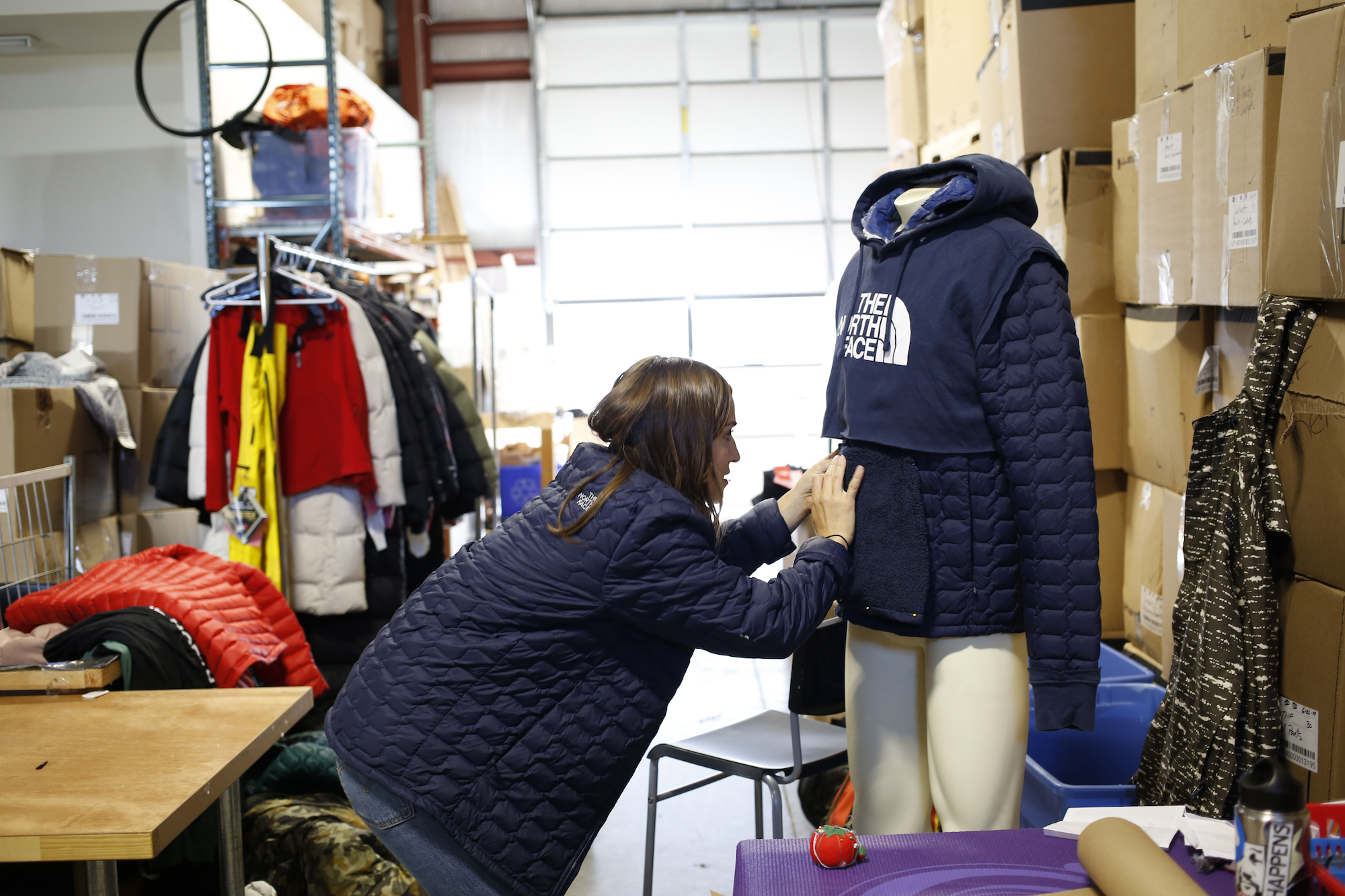 The North Face Renewed Design Residency circular economy