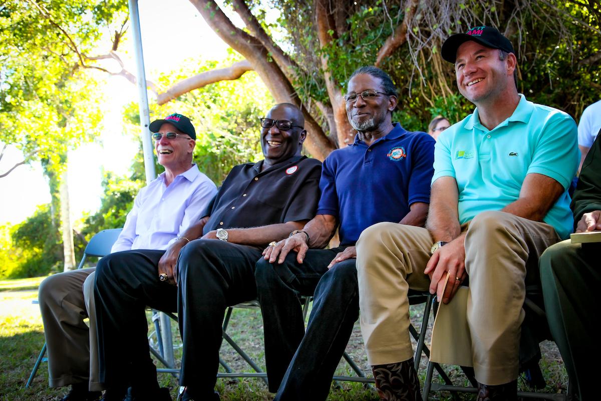 The Perfect Season Miami Dolphins celebrate the Florida Everglades