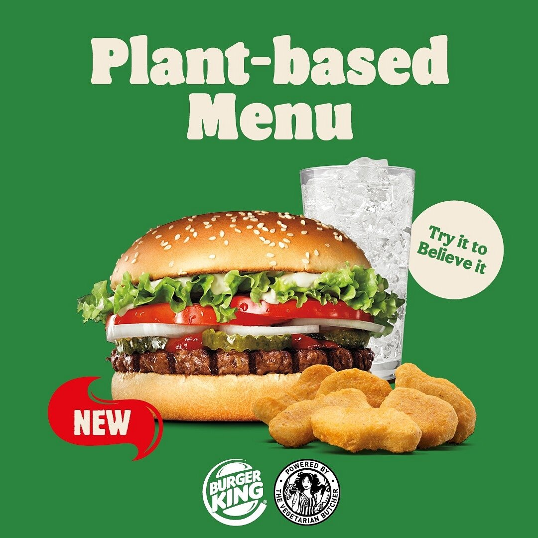 The Vegetarian Butcher x Burger King plant-based launch