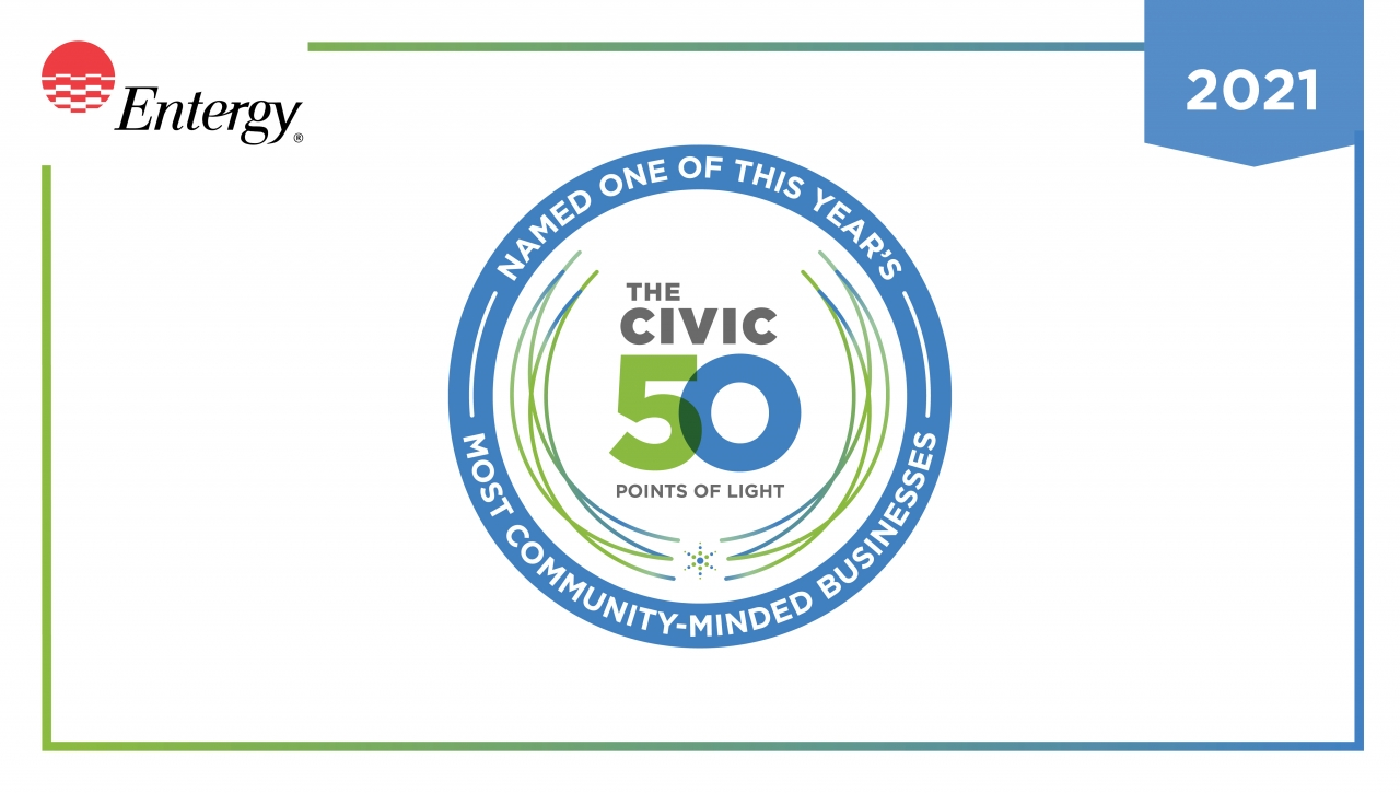 The Civic 50 Points of Light Logo