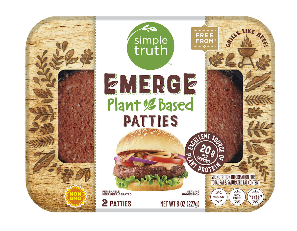 new plant-based foods Kroger vegan burger