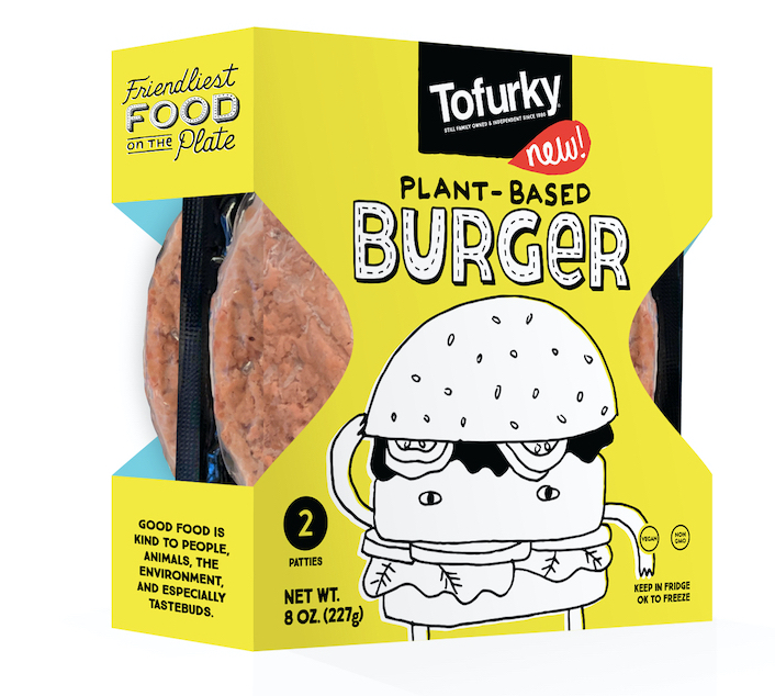 new plant-based foods Tofurky vegan burger